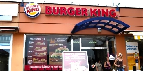Étterem  - Burger King Szeged